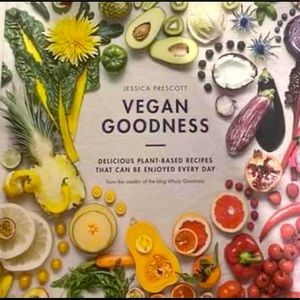 Vegan Goodness Hard Cover Cook Book
